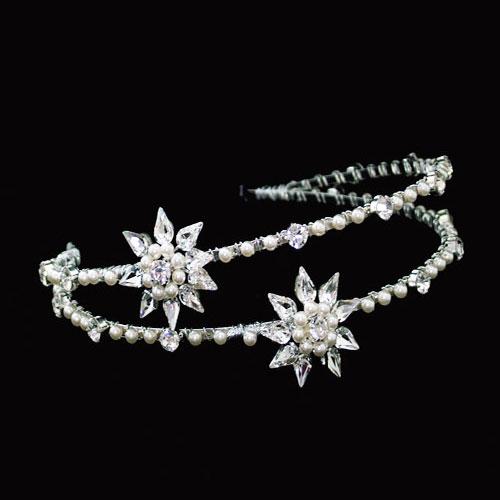 fb947f73273d Liza Designs FH2915 Double Swarovski Crystal Headband - Zaphira Bridal