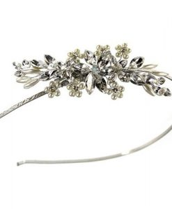 Ellie K Aspen Crystal Side Tiara