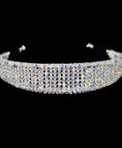 Ellie K Caprice Swarovski Crystal Headband