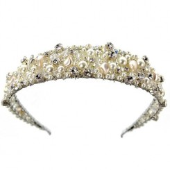 Ellie K Fergie Wedding Headband
