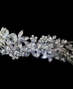 Liza Designs FH3007 Swarovski Crystal Wedding Headpiece
