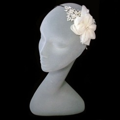 Liza Designs FH8040 Floral Wedding Headdress