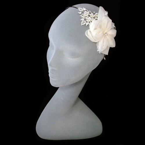 Liza Designs FH8040 Floral Wedding Headdress