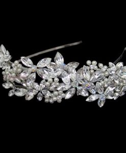 Liza Designs FH3007 Swarovski Crystal Wedding Headpiece