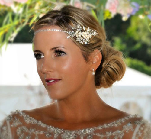 Ellie K Millie Wedding Browband