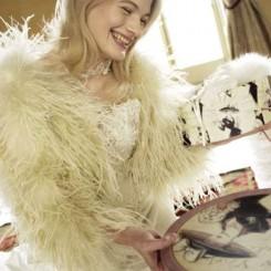 sasso alaska bridal jacket
