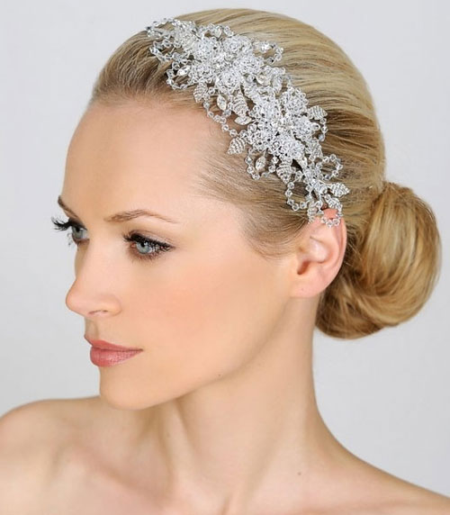 Liza Designs FH8240 Crystal Side Tiara - Zaphira Bridal d504db942fb