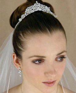 Crystal and Diamante Bridal Tiara - Carla