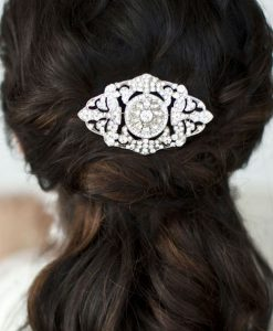 Art Deco wedding Comb