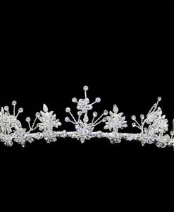 Warren York 4163 Crystal Wedding Tiara