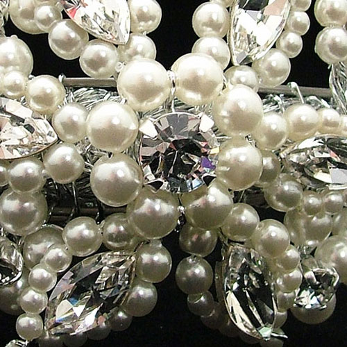Ellie K pearl wedding bracelet