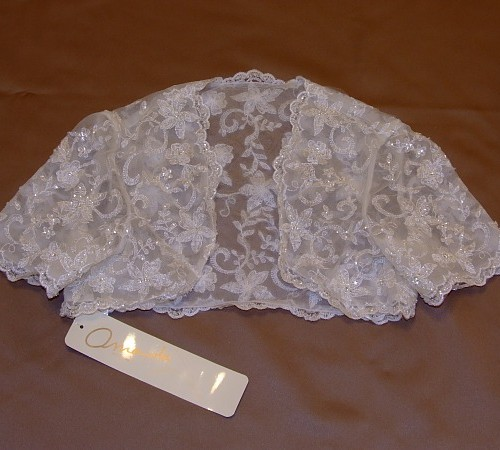 Amanda Wyatt Millie Lace Wedding Jacket