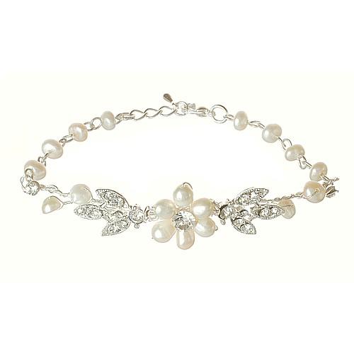 Paris Freshwater Pearl Bracelet by Starlet Jewellery