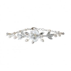 Petal Wedding Bracelet by starlet jewellery