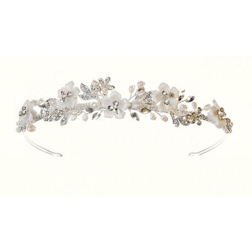 Petal Floral Wedding Tiara
