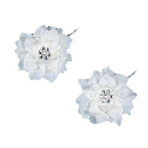 set of two wedding hair pins