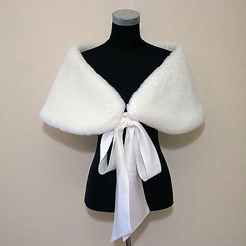 Amanda Wyatt Fur Wedding Wrap