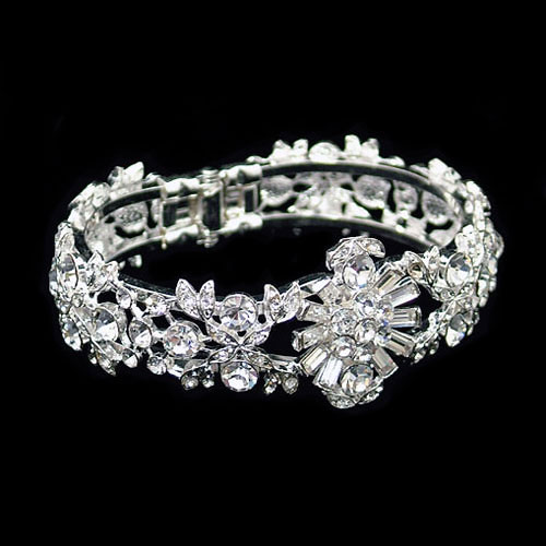 Amanda Wyatt JE77 Crystal Wedding Bracelet