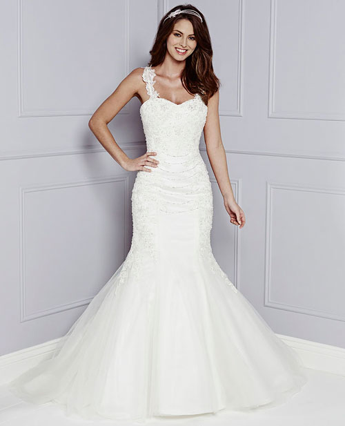 Jupon 193 fishtail wedding petticoat