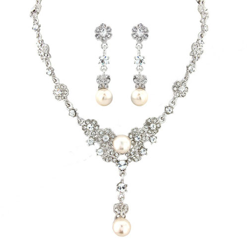 Butterfly Wedding Jewellery set vanessa
