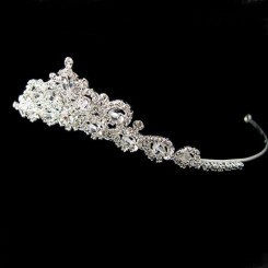 Crystal and Diamante Bridal Tiara - Carla