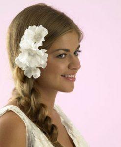 charlotte balbier cb35 bridal hair flower