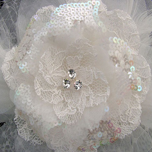 charlotte balbier cb37 birdcage veil wedding headpiece