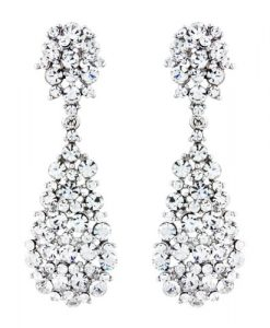 Swarovski Crystal Earrings Cerys