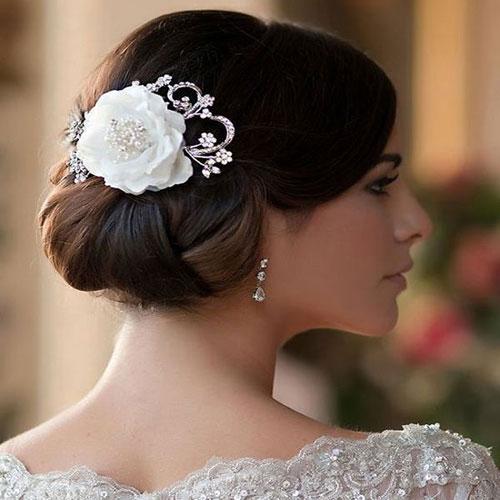 Vintage Flower Wedding Hair Clip