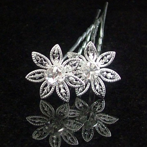 daisy wedding hair pins