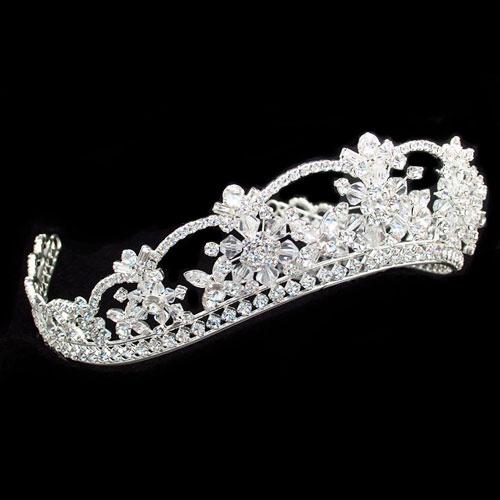 Princess Wedding Tiara - Cassandra