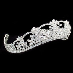 Princess Wedding Tiara - Cassandra