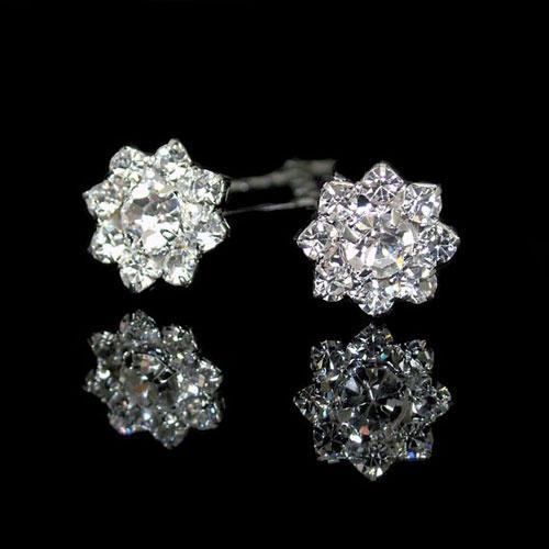 crystal bridal hair pins
