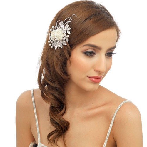 Floral Wedding Headpiece