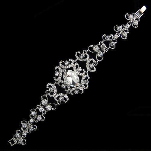 Vintage Wedding Bracelet - Freya