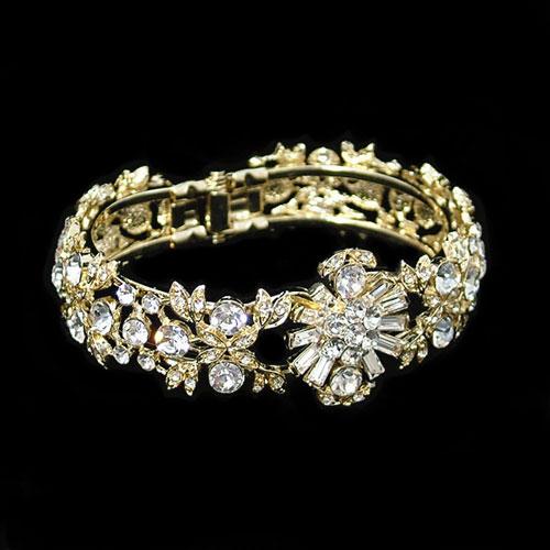 Amanda Wyatt JE77 Gold Wedding Bracelet