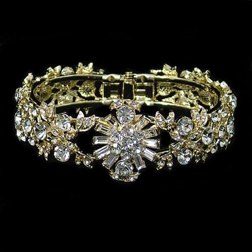 gold-diamante-wedding-bracelet-JE77B