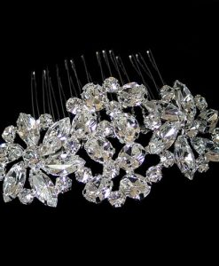 hollywood starlet crystal comb