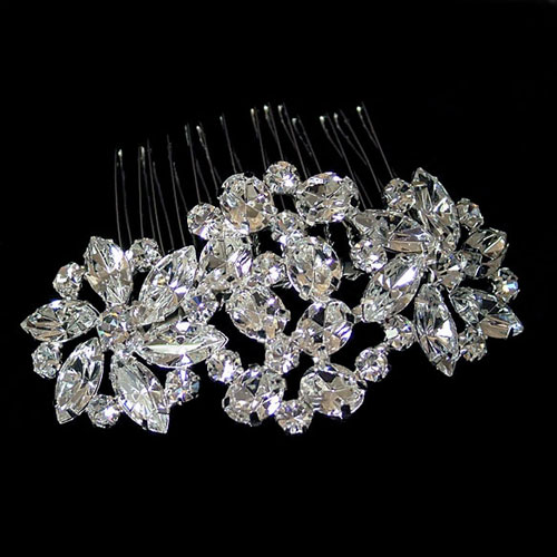 hollywood starlet crystal comb