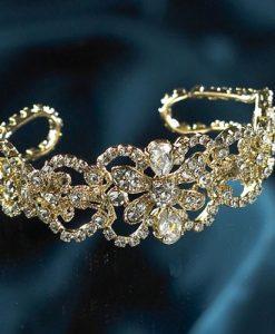 Amanda Wyatt JE56 Gold Bridal Bracelet