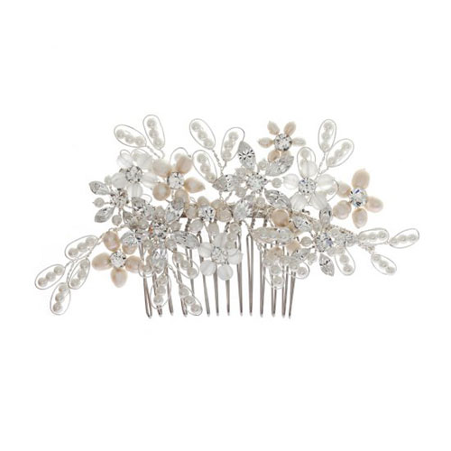 Freshwater Pearl Bridal Comb