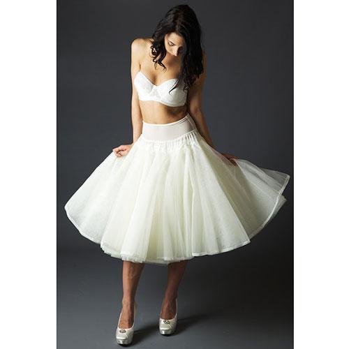 Jupon 125 1950s Style Short Petticoat
