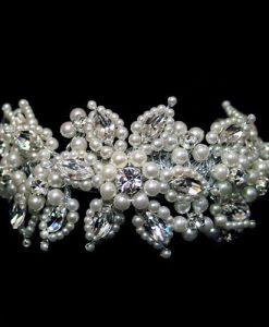 Ellie K pearl wedding bracelet