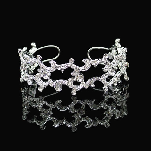 London Crystal Cuff Bracelet by Starlet Jewellery