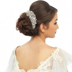 Crystal Wedding Hair Comb lucia