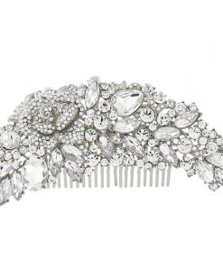 Crystal Hair Comb Lucia