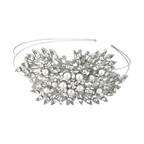 vintag wedding headband pandora