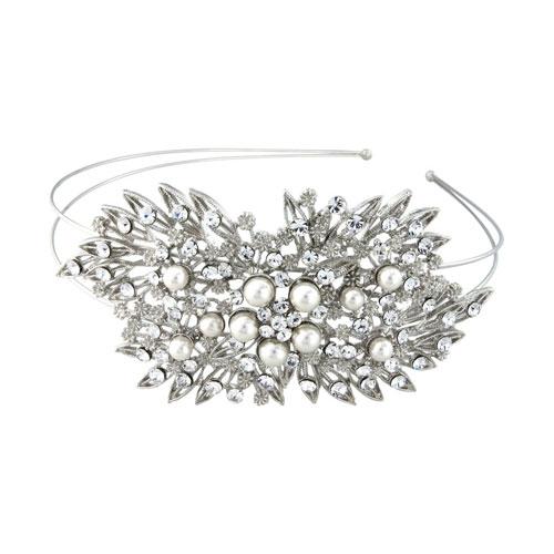 vintag wedding headband pandora