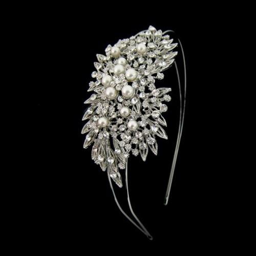pandora wedding hair accessory