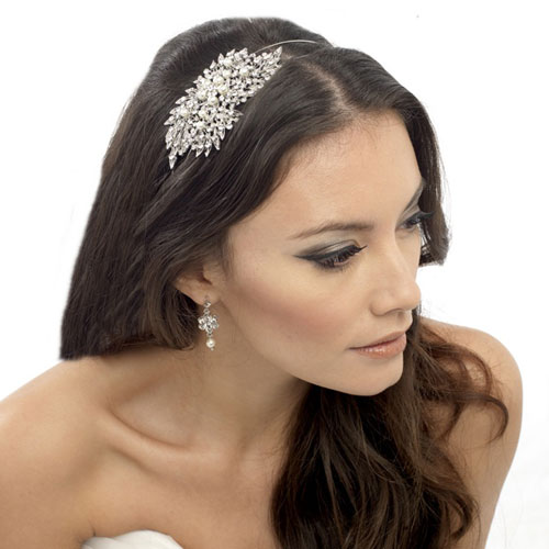 Vintage Wedding Side Tiara Pandora - Zaphira Bridal 56086e407e8